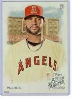 Albert Pujols 2019 Allen and Ginter 5x7 #7 /49 Angels