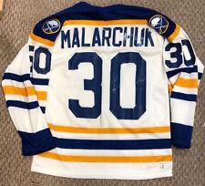 RARE Vintage Buffalo Sabres Jersey Clint Malarchuk 1988-92 CCM MASKA SMALL
