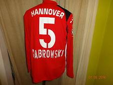 "Hannover 96 Diadora Langarm Matchworn Trikot 05/06 ""TUI"" + Nr.5 Dabrowski Gr.XL"
