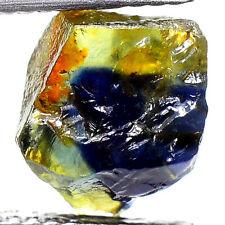 UNHEATED! 2.90ct NATURAL100% UNHEATED BLUE SAPPHIRE ROUGH SPECIMEN NR!