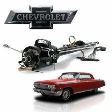"1961-76 GM B-Body 33"" Black Steering Column Automatic Keyed 327 Impala Bel Air"