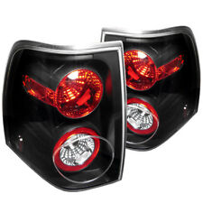 Ford 03-06 Expedition Black Altezza Tail Lights Brake Lamp Set