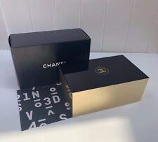 Chanel Makeup Cotton Pad Arcylic Cosmetics Storage box RARE