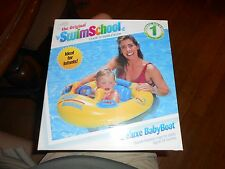SwimSchool Yellow/Blue Classic Deluxe Baby Boat - Phase 1