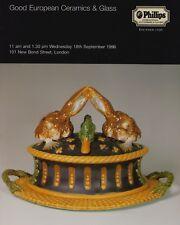 Buon europeo & INGLESE PORCELLANA ceramica POTTERY VETRO CATALOGO D'ASTA