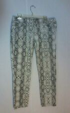 Seven7 Womens Animal Print Jeans Size 32 Pre-Owned