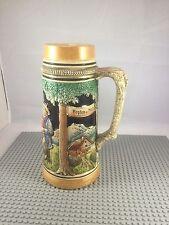Vintage Ceramic Beer Mug Tankard West Germany 1 L