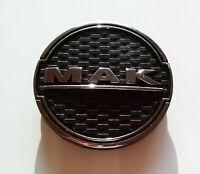 1 X MAK Kappe Zentrum Rad Chrom Schwarz 60 MM 8010002570 MAK Fatale Zenith