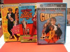 (3) Austin Power's DVDS, Inter. Man of Mystery, Spy Who Shagged Me & Goldmember