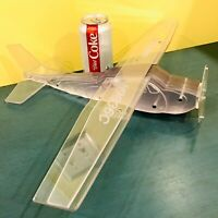 LARGE 1978 CESSNA R182 182 Skylane Handmade Lucite Model Airplane Aircraft GUC
