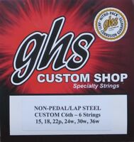 GHS Lap Steel Guitar Strings C6th - 6 Strings (2 Pack)