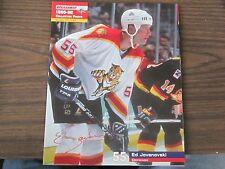 Ed Jovanovski Unsigned 8x10 Stadium Giveaway 1995-96 Florida Panthers #23 of #40