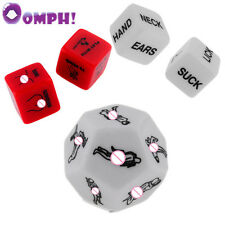 5 Piece Adult Dice, Sex Dice Party Position Dice Games for Adults Couples