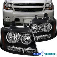 For 2007 2013 Avalanche 2007 2014 Tahoe Suburban Black Headlightssignal Fits 2007 Chevrolet Suburban 1500