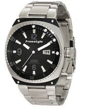 Freestyle Trench Silver Stainless Steel Quartz Watch Silver Men 5119