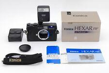 【Mint in Box】Konica Hexar RF 35mm Rangefinder Film Camera etc from Japan 343