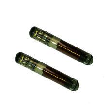 2 Funkschüssel Transponder Wegfahrsperre Glas Chip ID4C TP02  für Ford Toyota ..