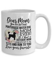 Portuguese Water Dog Mom Mug Mother's Day Gift For Portuguese Water Dog Lover