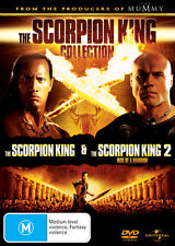 The Scorpion King / The Scorpion King 2: Rise of a Warrior * NEW DVD *