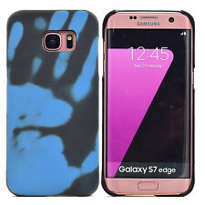 Thermal Sensor Color Change Matte Back Case Cover For iPhone 6 7 Samsung S8 Plus