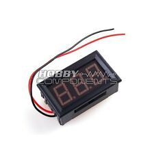 Panel Voltage Meter (Red)