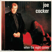 JOE COCKER When The Night Comes / Ruby Lee - PROMO - 45