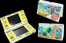Spongebob Vinyl Decal Skin Sticker Cover for Nintendo DS Lite DSL NDSL
