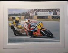 Sheene & Roberts, Silverstone `79 by Rod Organ, limited Edition Print