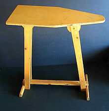 "Vintage Child's Wood Ironing Board 23"" tall hand made primitive display FREE SH"