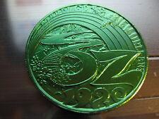 wizard of oz yellow brick road 1980 Mardi Gras Doubloon Coin