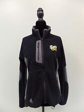 Sun Chips Jacket Eddie Bauer Fleece Polartec First Ascent Full Zip Women's M