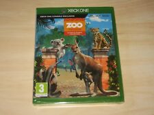 "XBOX ONE GAME "" ZOO TYCOON ULTIMATE ANIMAL COLLECTION "" SEALED"