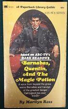 Dark Shadows Barnabas Quentin Magic Potion Marilyn Ross (1971) Paperback Library