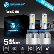 Pair Low Beam LED Headlight Bulbs Kit for Kenworth T370 T660 T600 T270 T800 T470