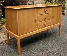 Vintage mid century modern Gordon Russell sideboard/buffet/great media cabinet