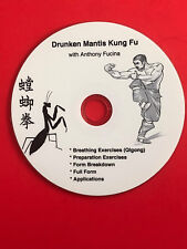 Dvd - Northern Drunken Praying Mantis Form with Applications, Breathing, Qigong