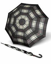 Knirps T.703 Stick Automatic Regenschirm Accessoire Schwarz