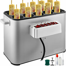 Automatic Egg Roll Machine Commercial Grilled Sausage Cooker 1400W Electric BBQ