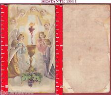 2514 SANTINO HOLY CARD PREZIOSISSIMO SANGUE EUCARESTIA SS. SACRAMENTO