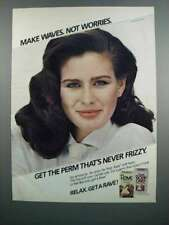1983 Rave Perms Ad - Make Waves Not Worries