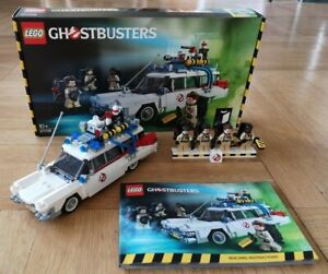 LEGO Ideas 21108 Ghostbusters Ecto-1 + Minifiguren Exklusiv wie NEU + OVP
