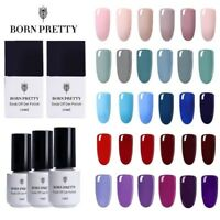 5/10ml 6 Bottles Soak Off Gel Polish Born Pretty Nail Art Color Gel Varnish Set