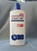 FOLICURE Original Shampoo for Fuller Thicker Hair, 23.6fl oz 1 Large Bottle!!