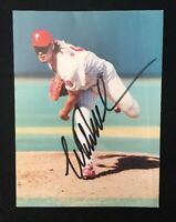 MITCH WILD THING WILLIAMS AUTOGRAPHED SIGNED AUTO BASEBALL PHOTO 4X6