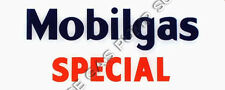 Mobilgas Special Flat Ad Glass (AG413)