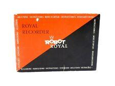 Robot Royal  Anleitung  (01975)