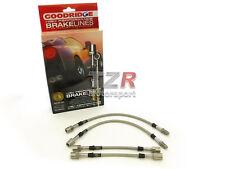 Goodridge Stahlflex Bremsleitung VW Polo 1/2/3 bis Bj. 94, G40 Turbo TVW0700-4P