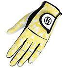 HJ Glove Youth Future Master Golf Glove, Yellow Camo, LARGE, Left Hand