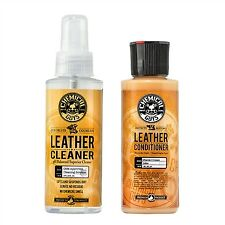 Chemical Guys Leather Cleaner & Conditioner Complete Leather Care 4oz