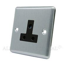 MATT Black classica ROUND PIN 5 Amp Presa-CSC 5 asocbl